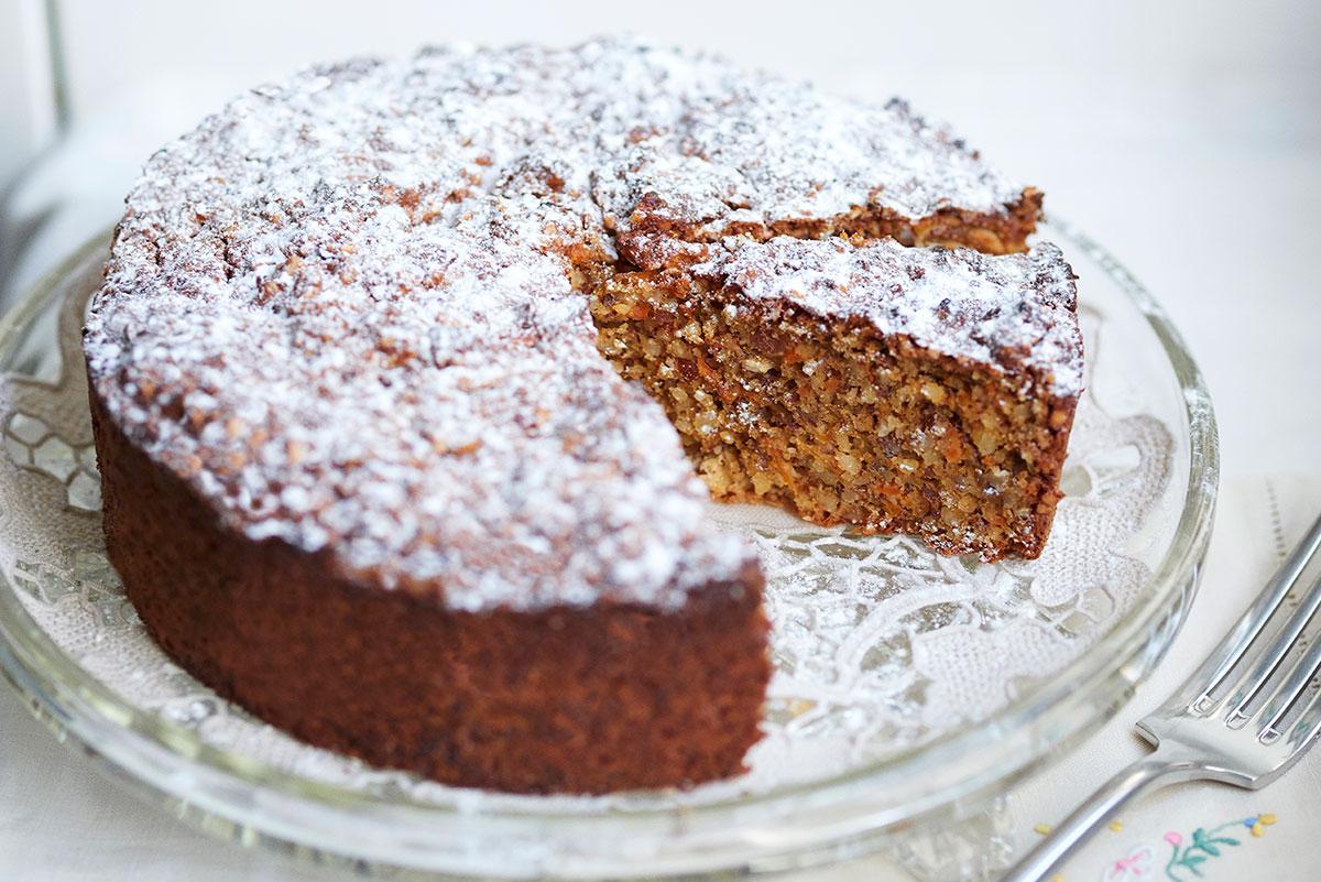 Moist Chocolate Cake With Ground Almonds